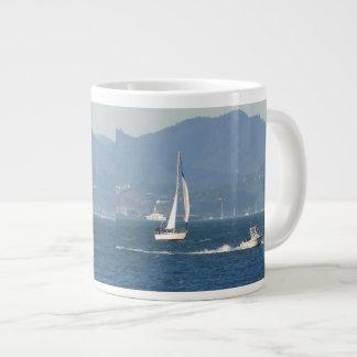 船遊び ジャンボコーヒーマグカップ