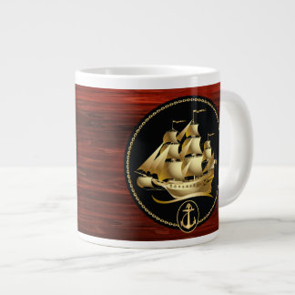 船3つのマグの選択 ジャンボコーヒーマグカップ