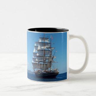 船 ツートーンマグカップ