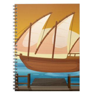 船 ノートブック