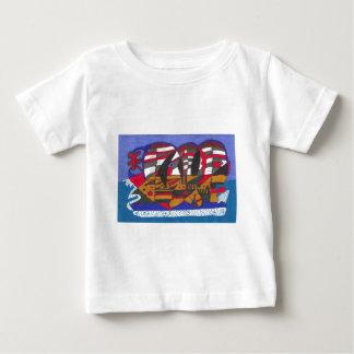 船 ベビーTシャツ