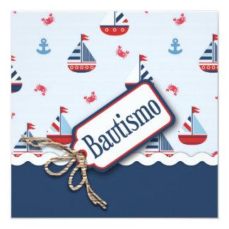 船Ahoy! 洗礼正方形のC_Spanish カード