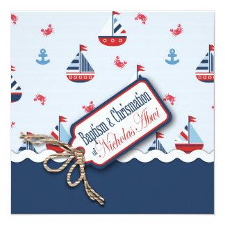 船Ahoy! 洗礼正方形C カード