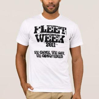 艦隊週のワイシャツ Tシャツ