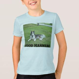 良い礼儀 Tシャツ