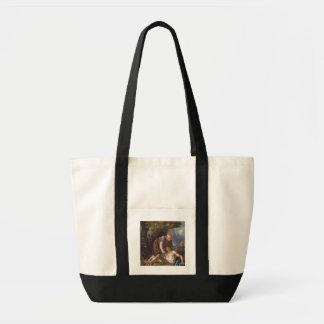 良きサマリア人、c.1751-52 (キャンバスの油) トートバッグ