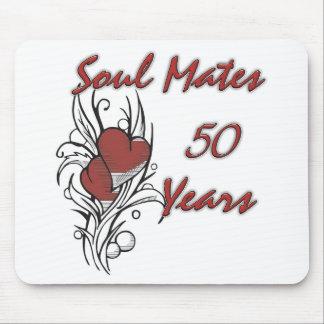 良きパートナー50年 マウスパッド