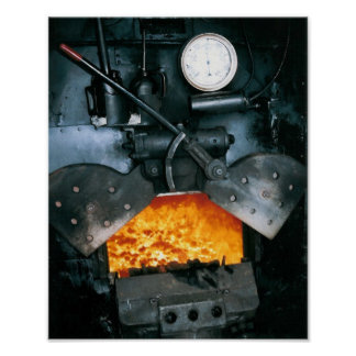 良質蒸気機関車のプリント ポスター