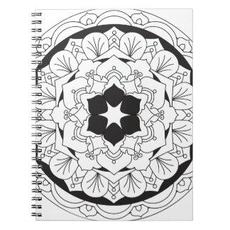 色あなたの自身の花の曼荼羅060517_4 ノートブック