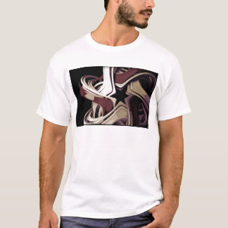 色によって溶かされる星 Tシャツ