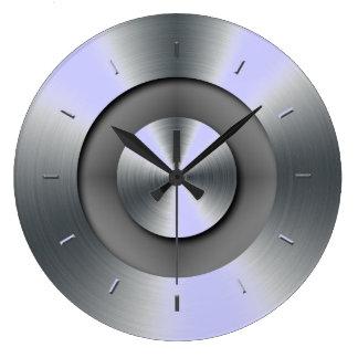 色に一致させるタマキビの上音 ラージ壁時計