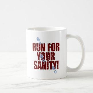 色のあなたの正気の糖菓のための操業! コーヒーマグカップ