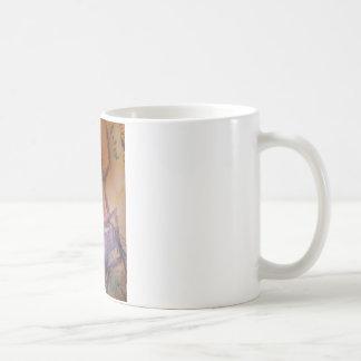 色のこっけい者の道化師 コーヒーマグカップ