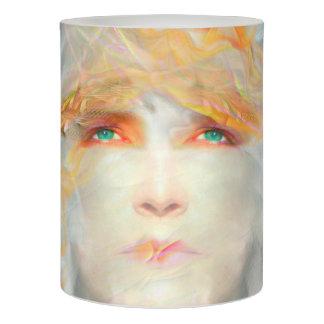 色のしぶきは芸術のファンタジーLEDの蝋燭を構成します LEDキャンドル