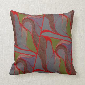 色のねじれ(自然な要素)の枕 クッション