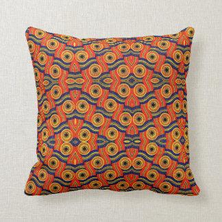 色のアフリカのプリントの装飾用クッションの青を選んで下さい クッション