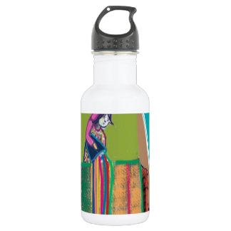 色のインドのフェスティバル- HOLIのhai ウォーターボトル
