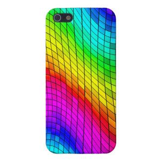 色のデジタル抽象的なパターン iPhone 5 カバー