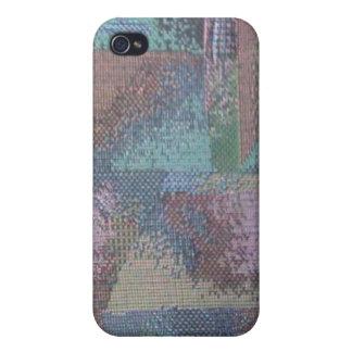 色のニットのSpeckの場合 iPhone 4/4S カバー