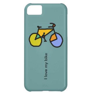 色のバイク iPhone5Cケース