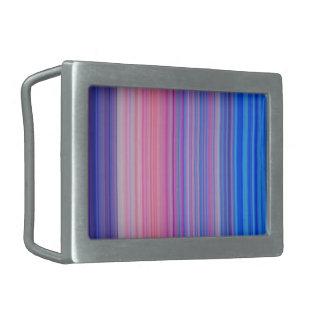 色のバンド 長方形ベルトバックル
