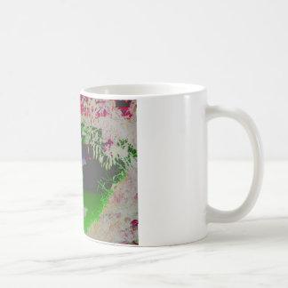 色のフラミンゴ コーヒーマグカップ