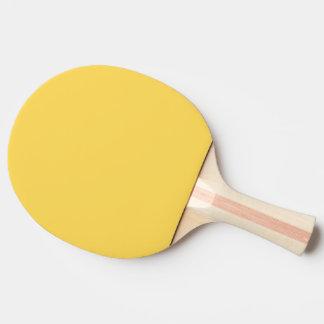 色のマスタード 卓球ラケット