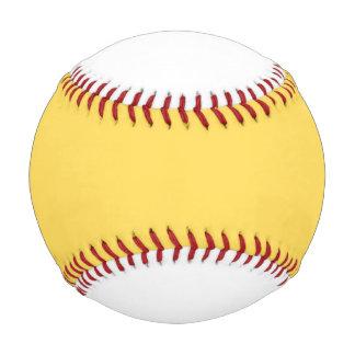 色のマスタード 野球ボール