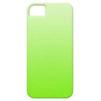 色の勾配だけ-ネオンの緑 iPhone SE/5/5s ケース