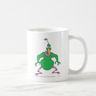 色の即刻の火星人 コーヒーマグカップ