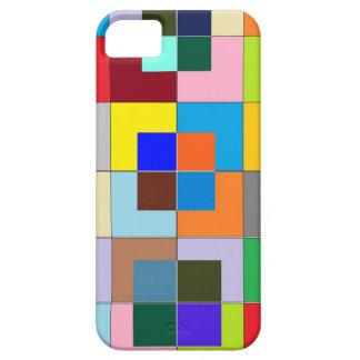 色の当惑: 幸せなグラフィック iPhone SE/5/5s ケース