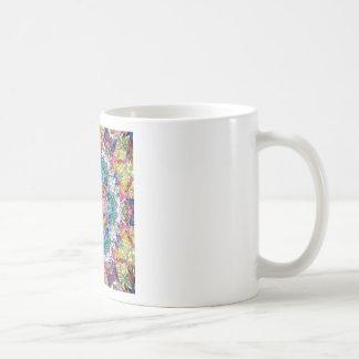 色の抽象的なバランス コーヒーマグカップ