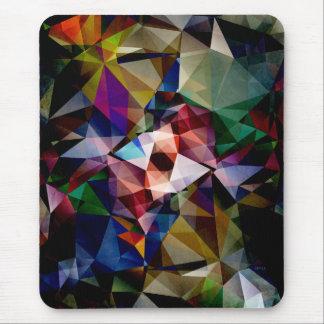 色の抽象的な角度 マウスパッド