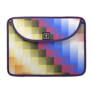 色の抽象的概念 MacBook PROスリーブ