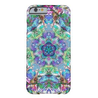 色の抽象芸術の5ポイント BARELY THERE iPhone 6 ケース