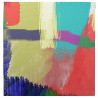 色の抽象芸術(30) ナプキンクロス
