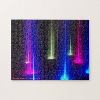 色の明るい流れ ジグソーパズル