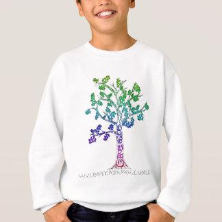 色の樹木限界線を作成して下さい スウェットシャツ