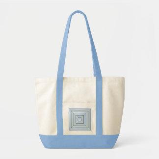色の正方形のカスタムなバッグ-スタイル及び色を選んで下さい トートバッグ