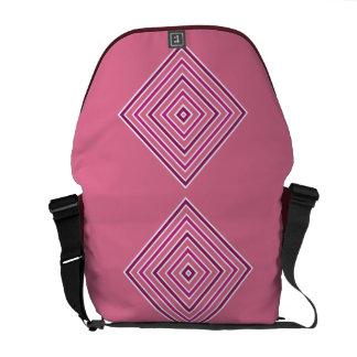 色の正方形のカスタムなメッセンジャーバッグ メッセンジャーバッグ