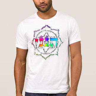 色の爆発の人のヴィンテージ Tシャツ