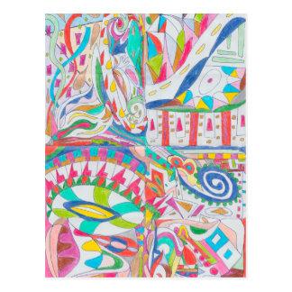色の目キャンデーのコレクション102 ポストカード