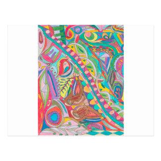 色の目キャンデーのコレクション104 ポストカード