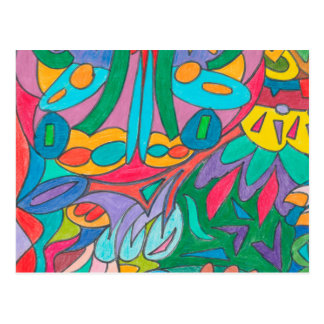 色の目キャンデーのコレクション107 ポストカード