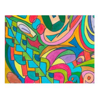 色の目キャンデーのコレクション115 ポストカード