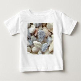 色の砂利 ベビーTシャツ