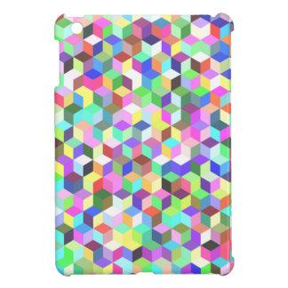色の立方体 iPad MINI カバー