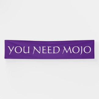 色の紫色及び単語だけ + あなたのアイディア 横断幕