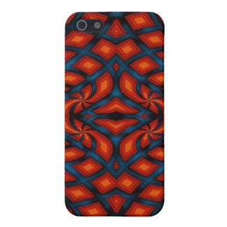 色の結び目-はっきりしたで抽象的なPern iPhone 5 Cover