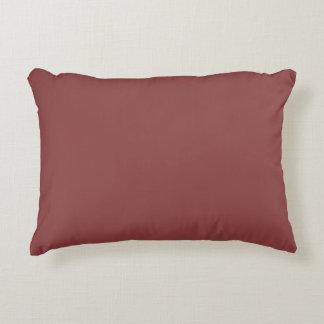 色の美しいテラコッタ赤い色合い アクセントクッション